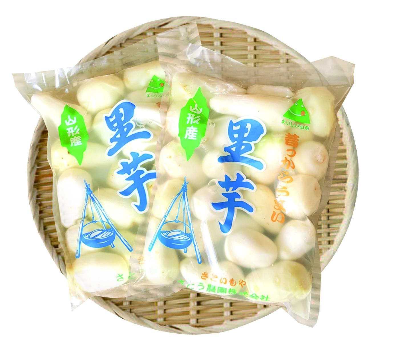 昔っからうまい「山形県産洗い里芋」