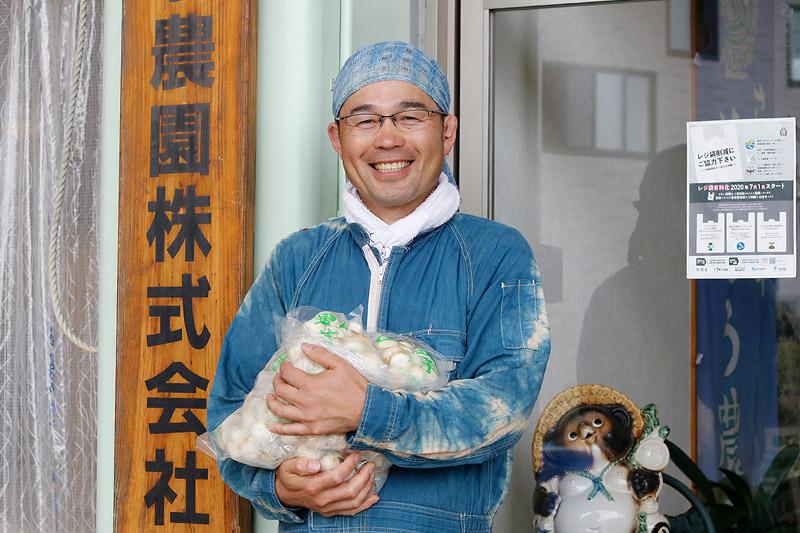 さといもや さとう農園 代表取締役 佐藤卓弥