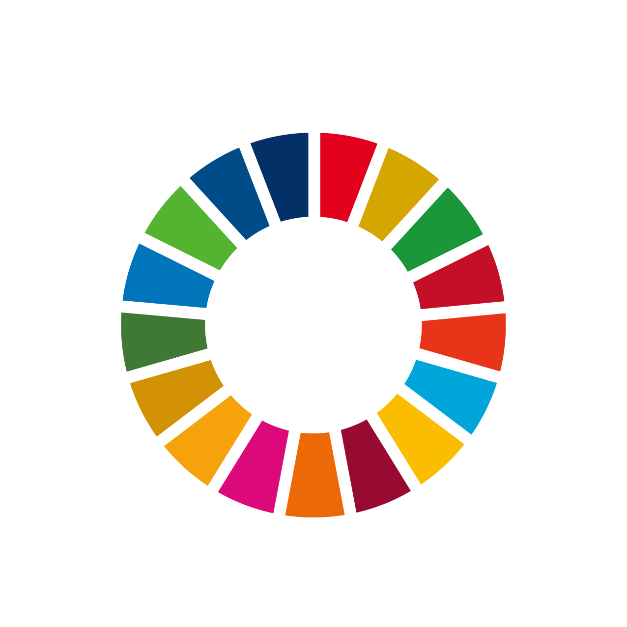 SDGs colorWheel